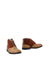 Swear London Ankle Boots Camel