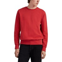 Ksubi Seeing Lines Cotton Sweatshirt Red