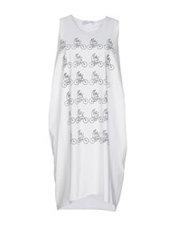 Io Ivana Omazic Short Dresses White