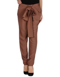 Hotel Particulier Casual Pants Brown