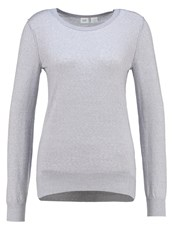 Gap Jumper Heather Grey Mottled Grey