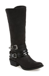 Coconuts By Matisse Women's 'Pecos' Double Belted Boot Black
