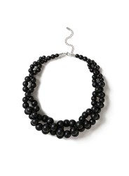 Dorothy Perkins Black Ball Collar Necklace
