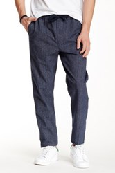 Obey Traveler Scatter Twill Pant Blue