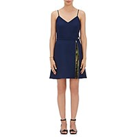Harvey Faircloth Women's Zip Gusseted Fit And Flare Dress Blue
