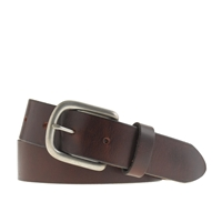 J.Crew Classic Buckle Belt Dark Chocolate