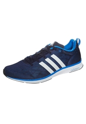 Adidas Performance Adizero Feather Lightweight Running Shoes Collegiate Navy Running White Solar Blue Dark Blue