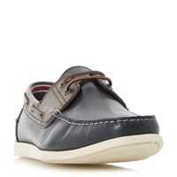 Linea Beach Hut Boat Shoes Navy