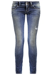Ltb Molly Slim Fit Jeans Petunia Blue Denim