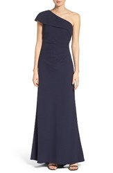 Vince Camuto Women's One Shoulder Crepe Gown
