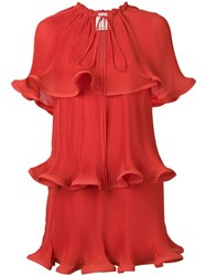 Stella Mccartney Tiered Bow Detail Dress