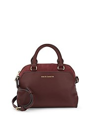 Vince Camuto Stef Solid Leather Satchel Driftwood
