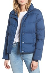 Patagonia Silent Water Repellent 700 Fill Power Down Insulated Jacket Stone Blue
