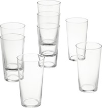 Cb2 Set Of 8 Marta Juice Glasses
