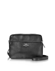 Zadig And Voltaire Quilted Leather Boxy Xl Zip Crossbody Bag Black