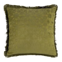 Day Birger Et Mikkelsen Mahal Chenille Fringes Cushion Cover 50X50cm Moss