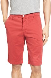 Ag Jeans Men's 'Griffin' Chino Shorts Dusty Red