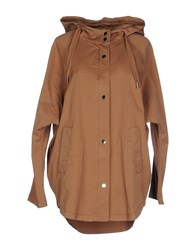 Stefanel Coats And Jackets Full Length Jackets Women Brown