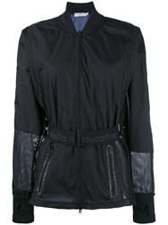 Adidas By Stella Mccartney Belted Sports Jacket Black