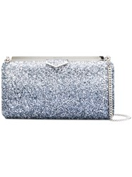 Jimmy Choo Ellipse Clutch Bag Metallic