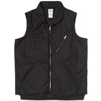 Post Overalls E Z Cruz Vest Black Poplin
