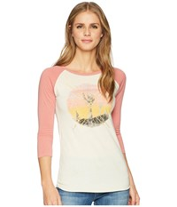 Rock And Roll Cowgirl 3 4 Sleeve Tee 48T5566 Dusty Rose T Shirt Pink