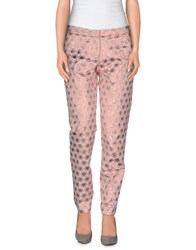 Ki6 Who Are You Trousers Casual Trousers Women Pastel Pink