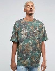Jaded London Souvenir T Shirt Khaki Green