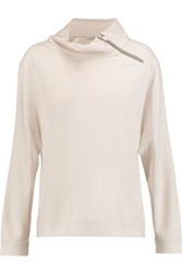 Brunello Cucinelli Cashmere Sweatshirt Off White