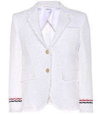 Thom Browne Cotton Jacket White