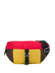Marni Colour Block Belt Bag Red