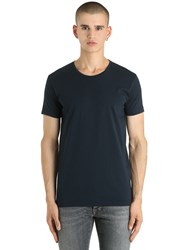 Unlimited Cotton Jersey T Shirt Navy