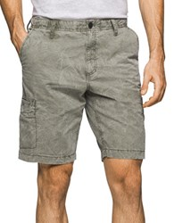 Calvin Klein Jeans Olive Tied Shorts Spanish Olive