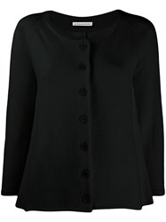 Stefano Mortari Relaxed Fit Knit Cardigan Black