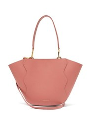 Mansur Gavriel Ocean Mini Leather Cross Body Bag Light Pink