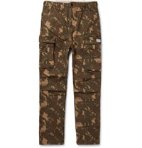 Mission Slim-fit Cotton-blend Cargo Trousers - Army greenPresident's