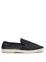 Rivieras Nice Matin Woven Loafers Blue