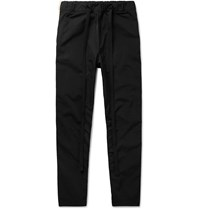 Fear Of God Slim Fit Tapered Striped Nylon Sweatpants Black