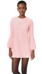 Cynthia Rowley Faux Suede Bell Dress Light Pink