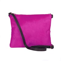 Sarah Baily Dilly Messenger Pink And Black Pink Purple