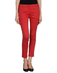 G.T.A Sport G.T.A. Pantalonificio Casual Pants Red