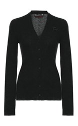 Rochas Fitted Knit Cardigan Black