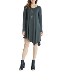 Karen Kane Solid Scoopneck Dress Grey