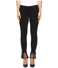 Blank Nyc Released Hem Fray Black Crop Skinny In Be A Frayed Be A Frayed Women's Jeans
