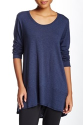 Central Park West The Khoury Tunic Blue