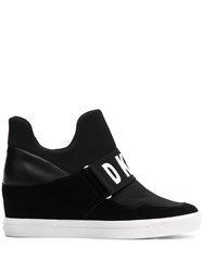 Dkny Logo Strap Wedged Sneakers 60