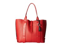 Badgley Mischka Barret Tote Red Tote Handbags