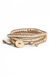Women's Lonna And Lilly Long Beaded Wrap Bracelet
