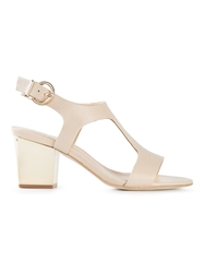Lola Cruz Chunky Heel Sandals