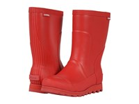 Sorel Joan Rain Short Burnt Henna Red Dahlia Women's Rain Boots